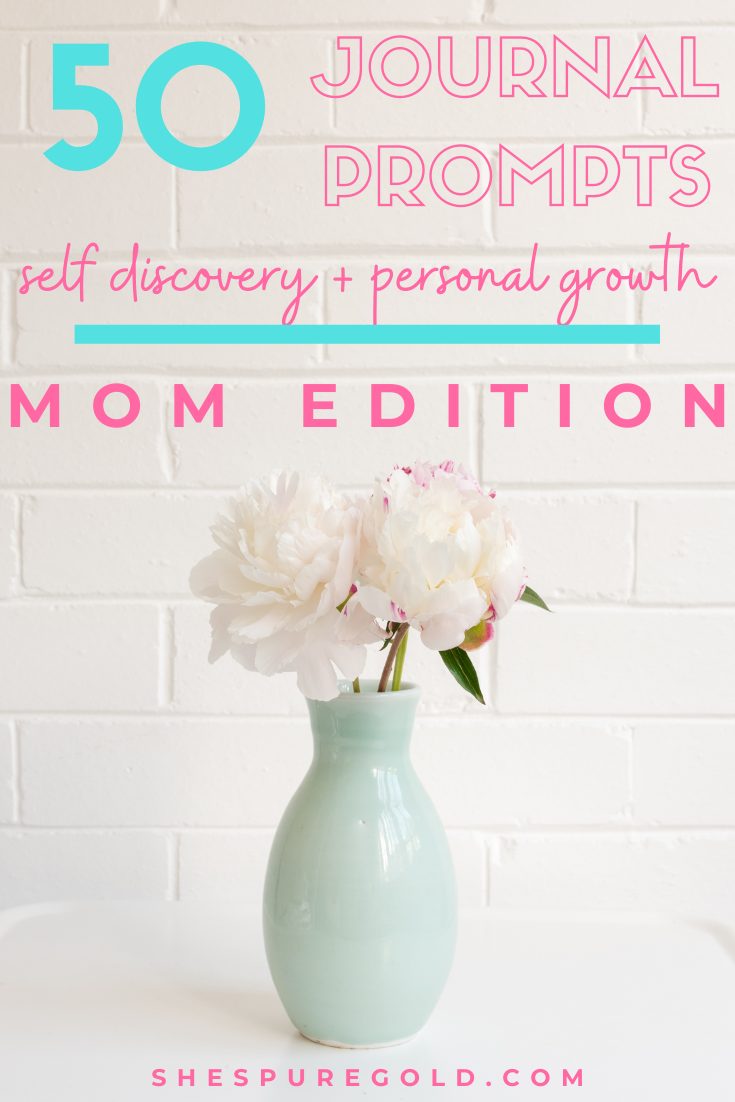 50 thoughtful Journal Prompts for Moms
