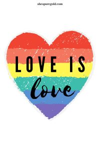love is love pride quote