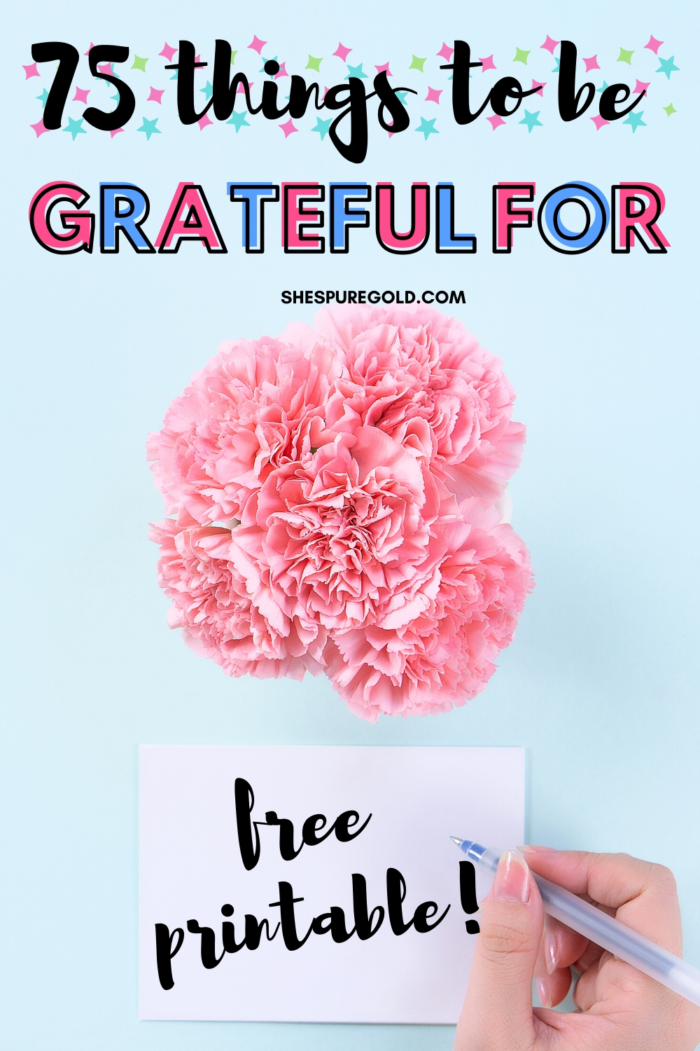 75 things to be grateful for