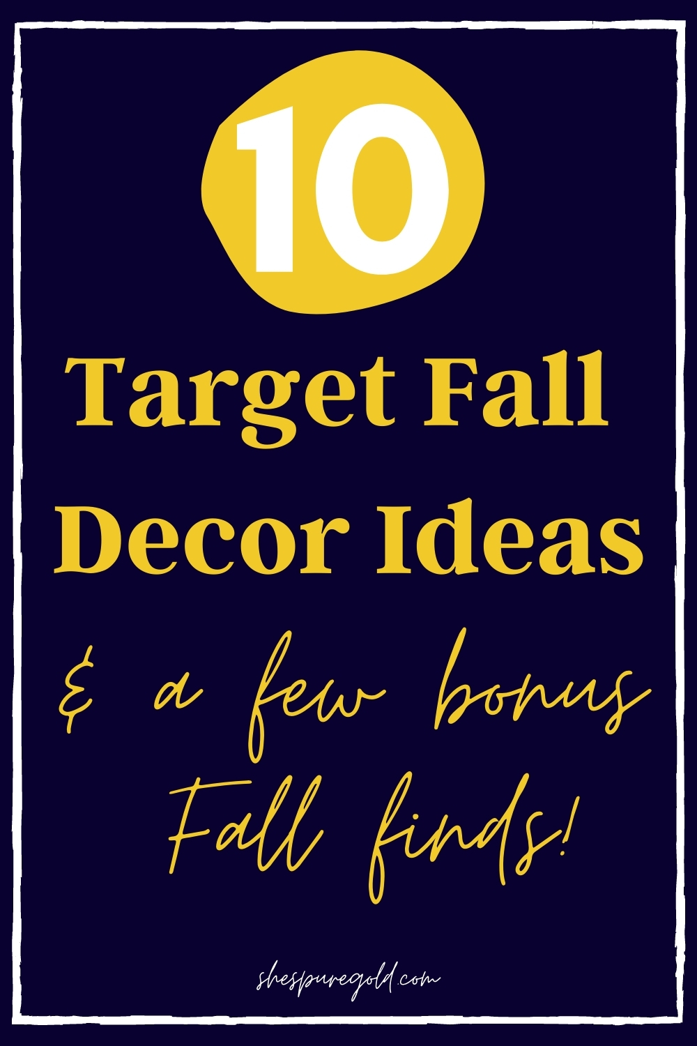 10 Rustic Fall Decor Finds at Target